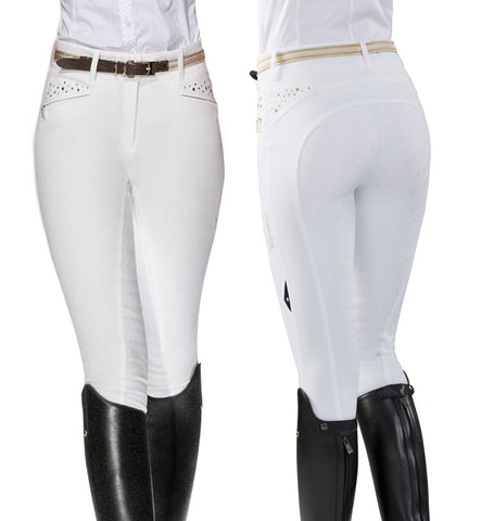 Equiline Deena Dressage High Waisted Full Grip Ladies Breeches SS16