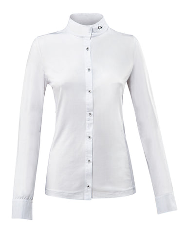 Eqode by Equiline Woman's Competition Long Sleeve Shirt