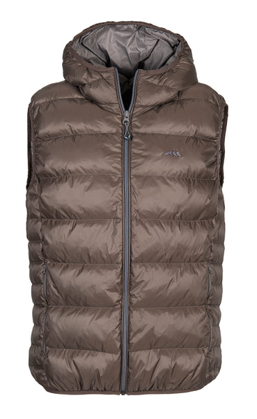 Equiline Gus Black Mens Down Vest