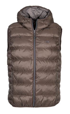 Equiline Gus Black Mens Down Vest -Black