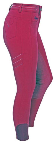 Cavallino Performance Contrast Pink  Womens Breeches