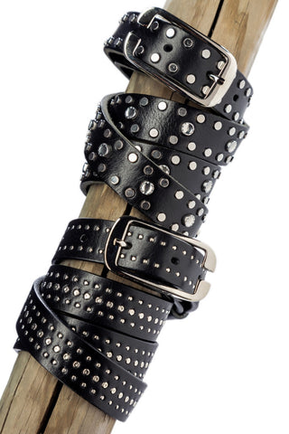Sergio Grasso Belt with Studs