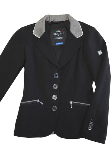 Equiline Sissy Girls Competition Jacket - Black