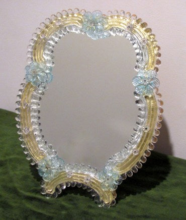 Arte Di Murano Medium Glass Mirror