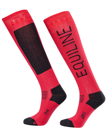 EQUILINE CONTEMPORARY LOGO SOCKS - T11313