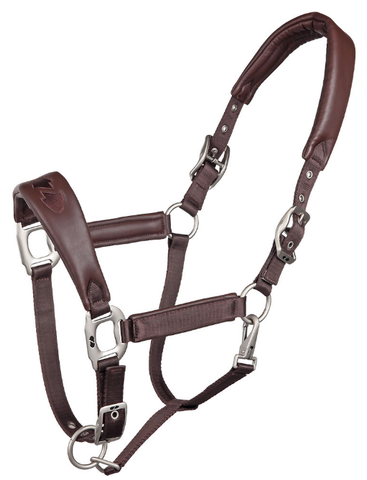 Zilco Oxford Brown Padded Halter