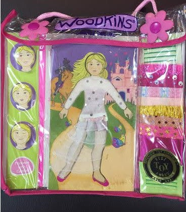 Woodkins Princess Dress Up Doll
