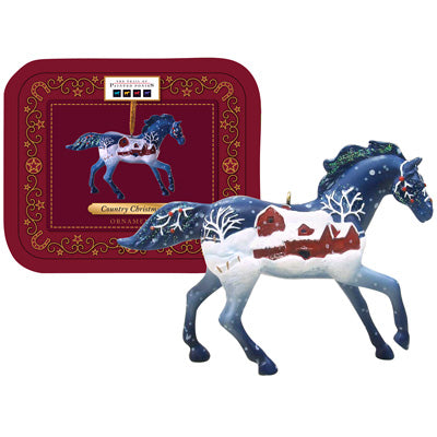 Painted Ponies Country Christmas Ornament