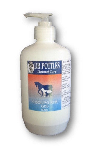 Dr Pottles Cooling Rub Gel