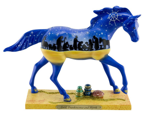 Painted Ponies Gold, Frankincense and Myrrh