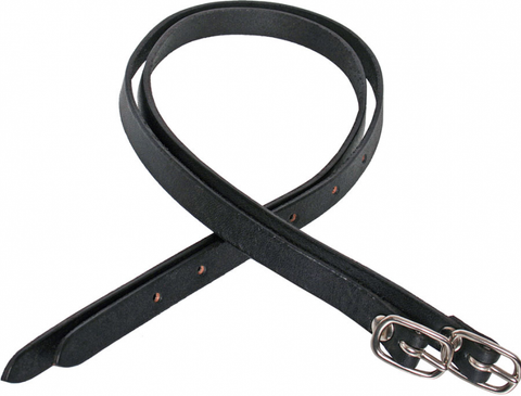Flair Leather Spur Straps