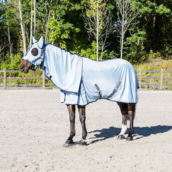Horze Freja Fly Rug w/ Neck and Hood