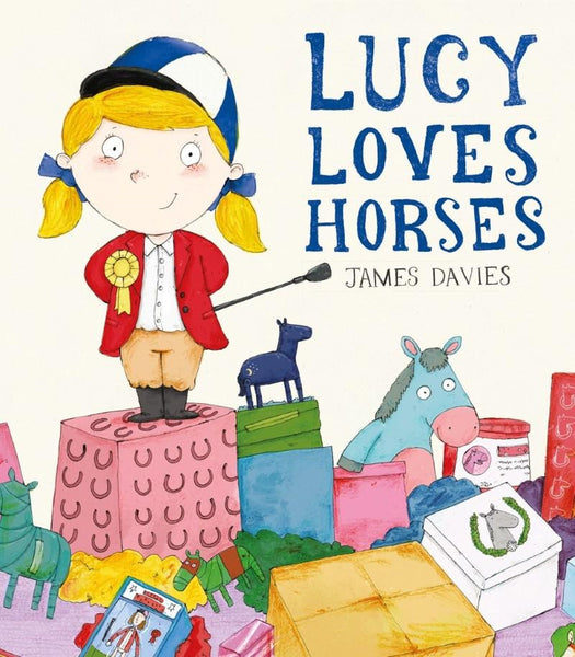 Lucy Loves Horses Story Book