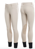 Animo Netik Girls Riding Breeches - Burgundy