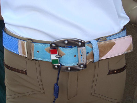 Animo Patchwork Belt - 80cm