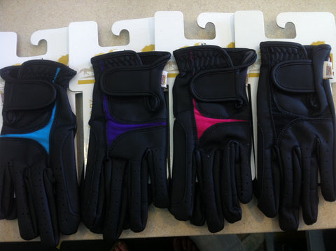 Flair Riderwear Serino/Lycra Adults Gloves