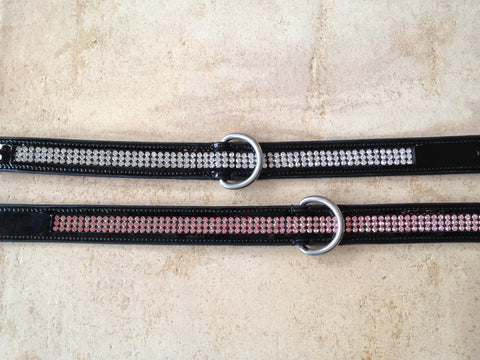 Wild Diamond Insert Patent Dog Collar
