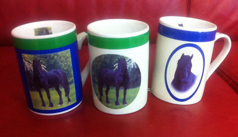 Black Stallion Mugs