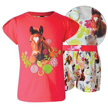Thomas Cook Photographic Horse PJ Set- Childs Size 2