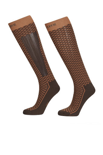 Equiline Check T11273 Socks