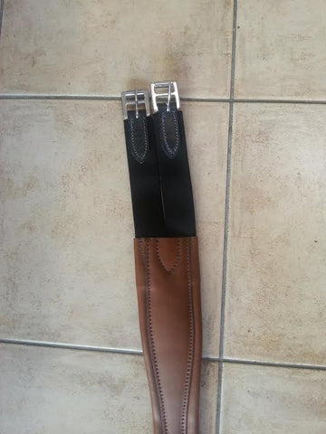 Lemetex Leather Jumping Girth