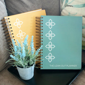 """Imperfection is Beauty"" Lean Out Planner"
