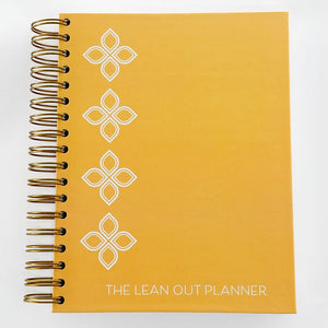 Lean Out Planner - Yellow