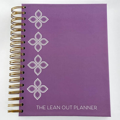 Lean Out Planner - Purple