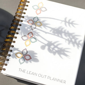 Lean Out Planner - White