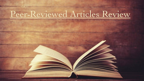Peer-Reviewed Articles Review: Fall/Winter 2017/2018 (Part 3