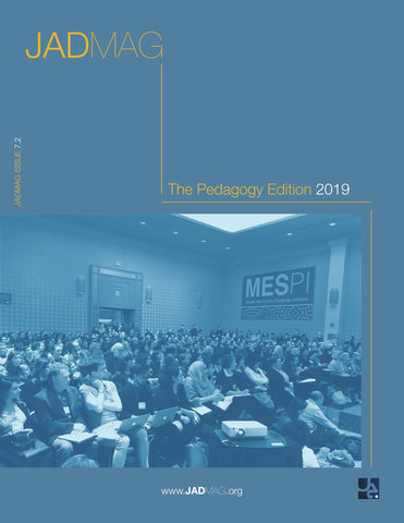 JADMAG Issue 7.2: Pedagogy 2019