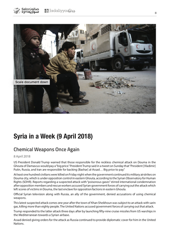 Syria Quarterly Report Issue 2: April/May/June 2018