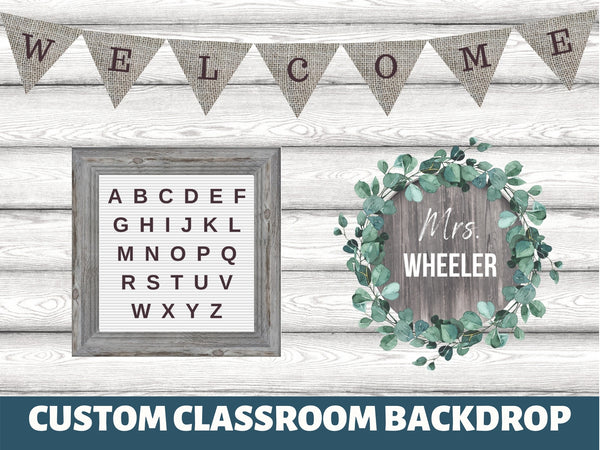 Farmhouse Teaching Backdrop
