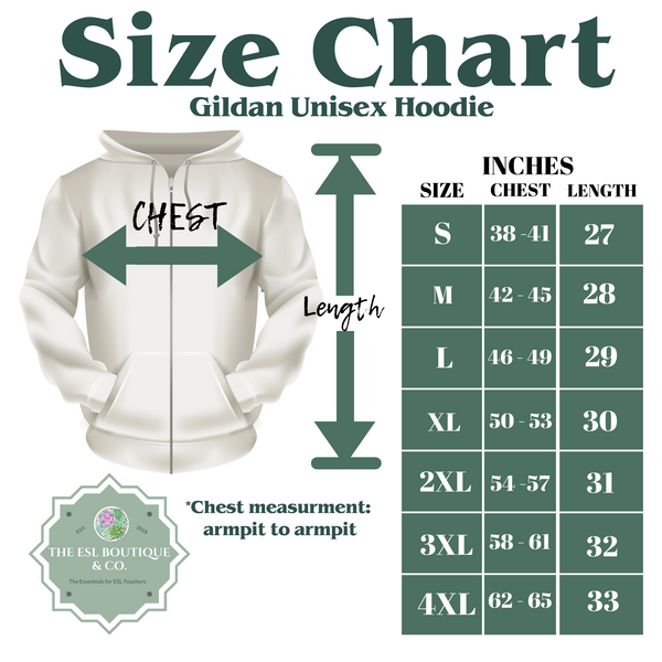 Teacher in Chinese Pullover Hoodie