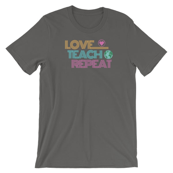 Love Teach Repeat Teacher Shirt