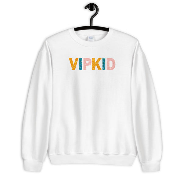 VIPKID Teacher Sweatshirt - Faux Glitter!