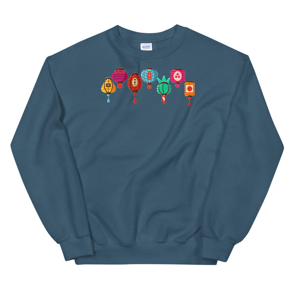 Lantern Colorful Sweatshirt