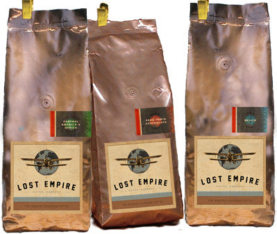 Wholesale Samples / Medium Roast 3 Coffee Adventure Box