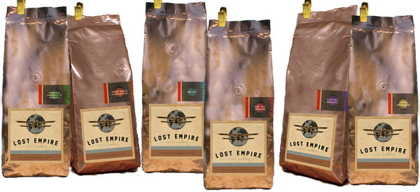 Wholesale Coffee Samples / 6 coffees