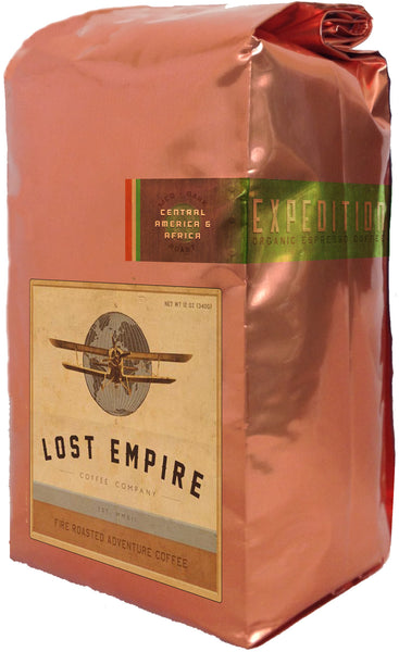 Expedition Espresso. Urban Adventure Coffee. Fresh roasted coffee, organic coffee, fair trade coffee, fire roasted coffee for sale in our online coffee store. Buy the best fresh roasted coffee on the internet. Lost Empire Coffee Company