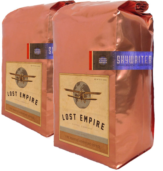 Skywriter Roast Master's Blend  FTO, (6 )12 oz bags, Wholesale, USA