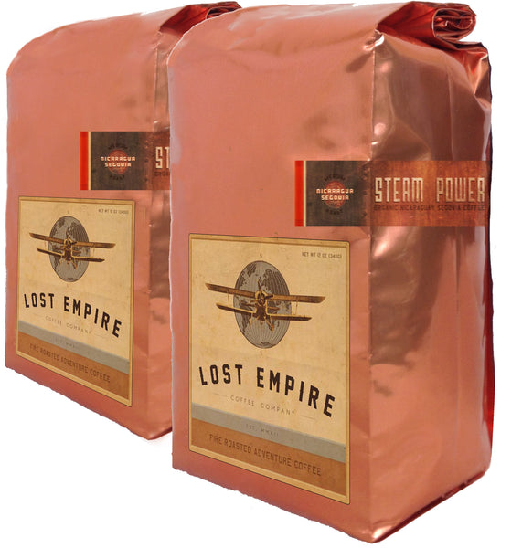 Steam Power Nicaraguan Segovia  FTO, (6 )12 oz bags, Wholesale