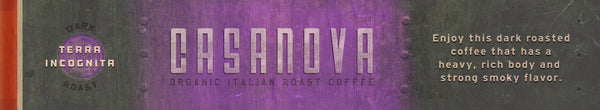 Casanova FTO Italian Roast Coffee, (6) 12 oz bags, Wholesale