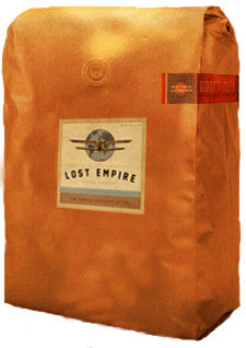A commercial account is required to purchase this product. Contact us to set up your account.  lostempirecoffee@gmail.com  Sunset Amore'      Organic & Fair Trade      Roasted-to-Order     Central American Blend of Fresh Roasted Coffees     5 lb bag, whole bean   Certified Organic Latin Sunset is a blend for those who love medium roast coffee coffee will subtle nuances in aroma and flavor.          Classic, beautiful and distinctive Latin coffee blend exuding sweet floral accents.        Lost Empire Coffee Company brings you the most exotic coffees and unique blends you have ever tasted.  We fresh roast our adventure brews and get them to you fast and fresh by foot, bicycle, train, balloon, truck or air. The closest thing to airdropping a wooden crate of fresh roasted coffees at your door.  Lost Empire Coffee is...Adventure. In a Cup.