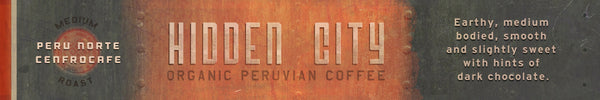 5 lb bag, Hidden City Peru Norte Cenfrocafe  FTO, Wholesale