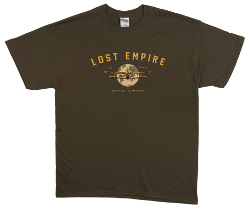 Lost Empire Coffee Adventure Shirt