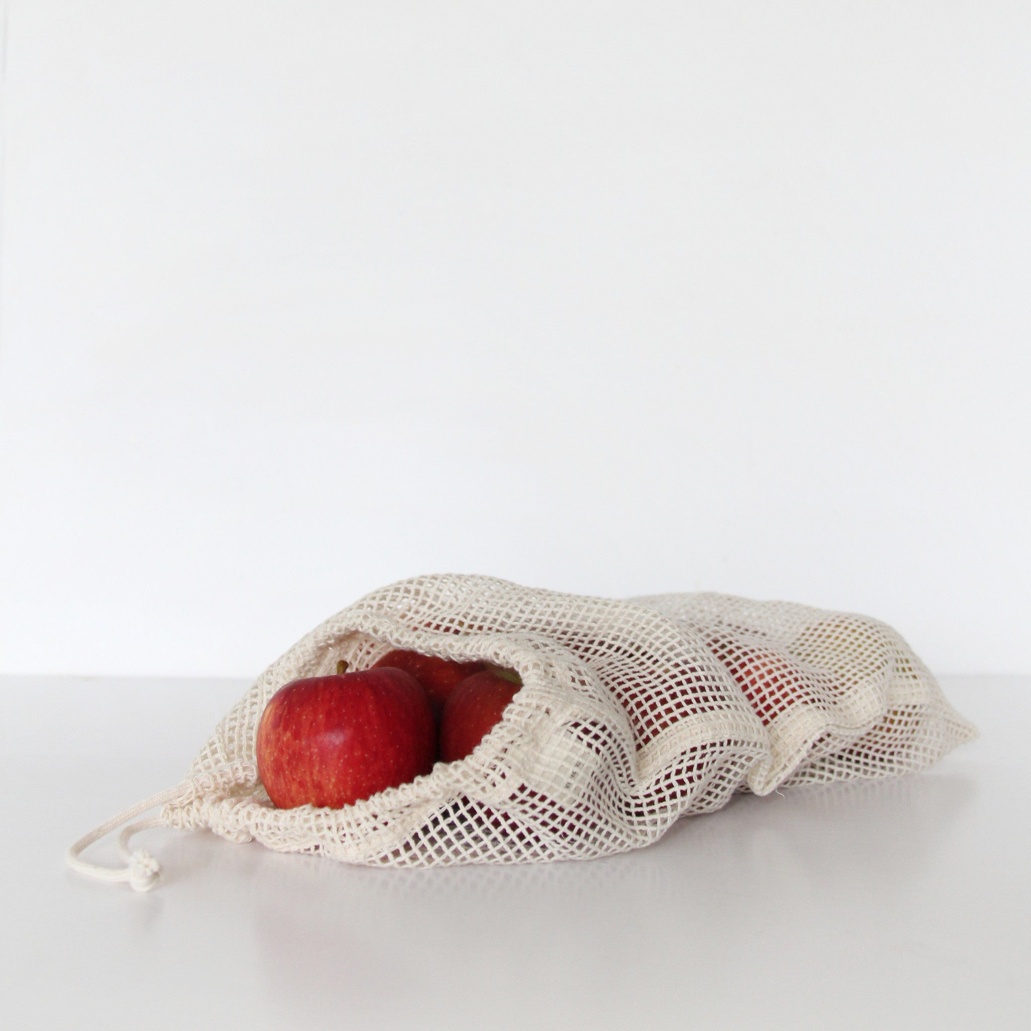 ORGANIC COTTON PRODUCE BAGS | LARGE | PACK OF 3