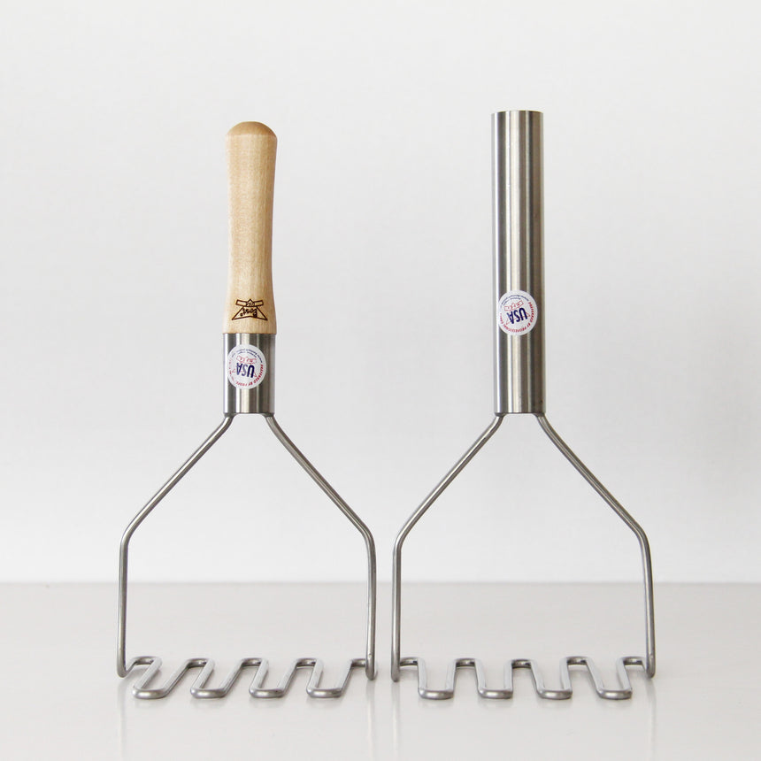CLASSIC MASHER WITH WOODEN HANDLE