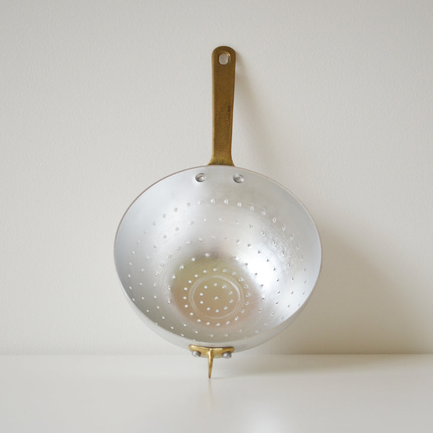 colander | brass handle | ottinetti