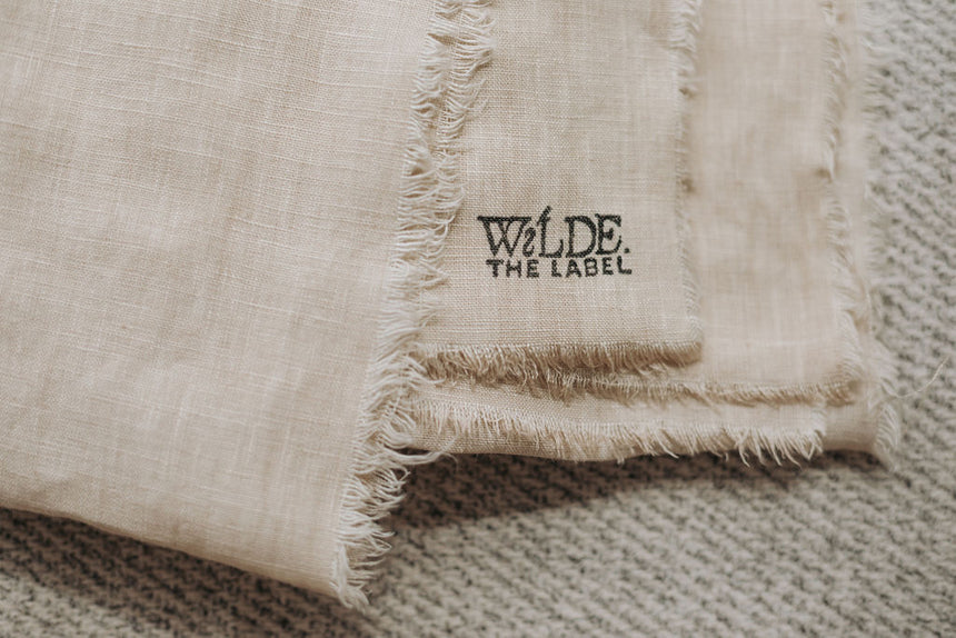 orion linen throw | wilde the label